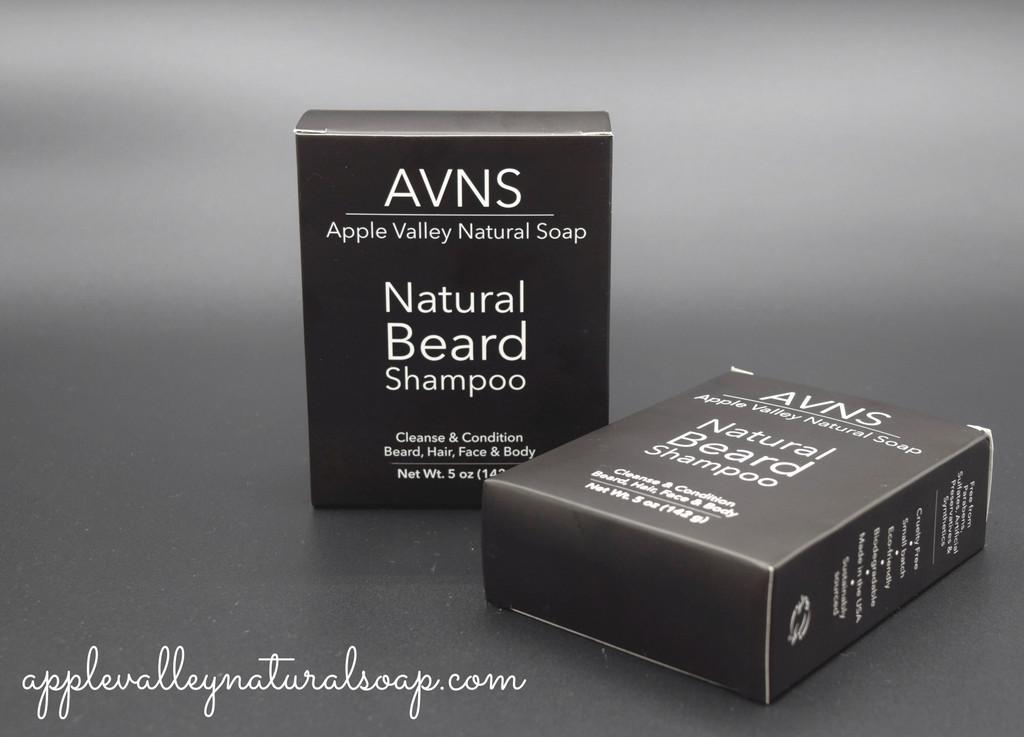 Natural Beard Shampoo by Apple Valley Natural Soap