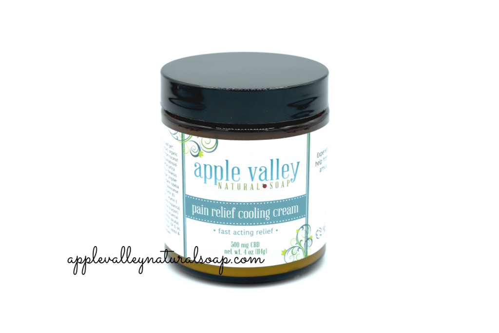 Pain Relief Cooling Cream by Apple Valley Natural Soap