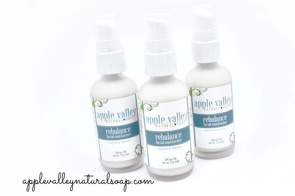 Rebalance Facial Moisturizer by Apple Valley Natural Soap