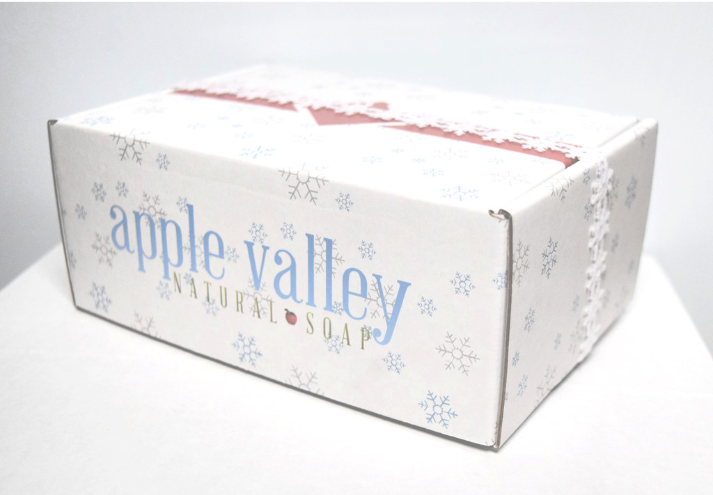 Snowflake Gift Box by Apple Valley Natural Soap