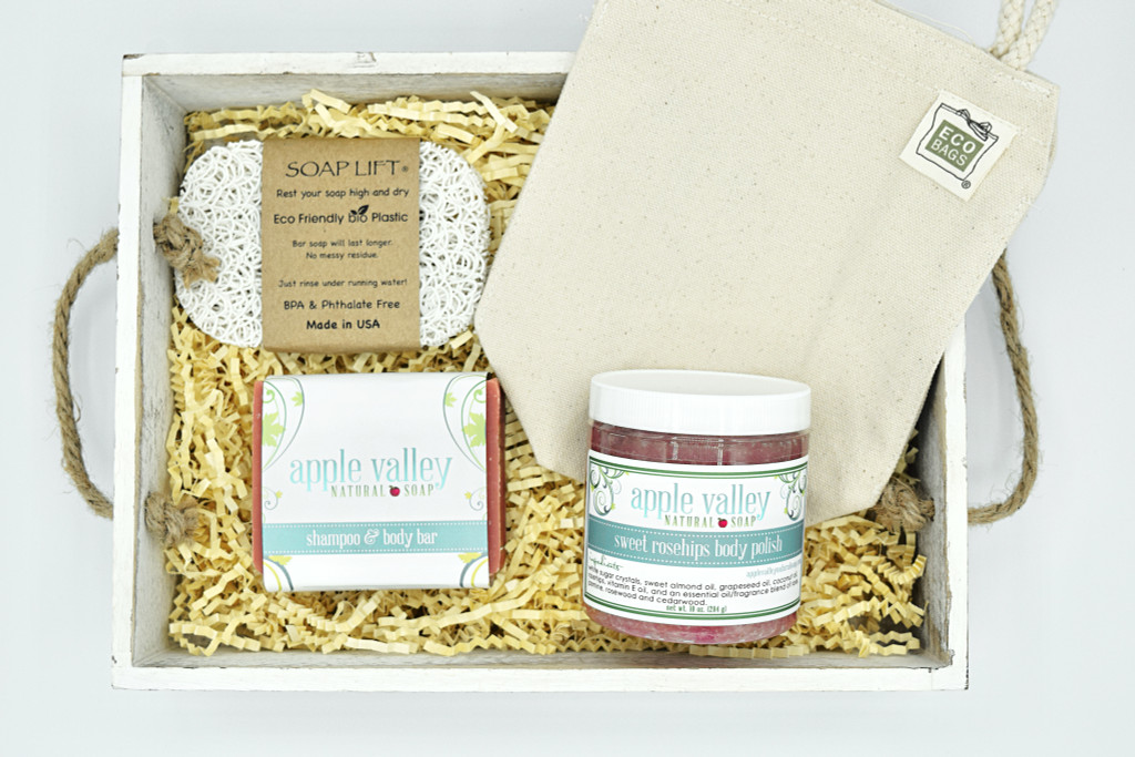 Valentines Gift Box by Apple Valley Natural Soap