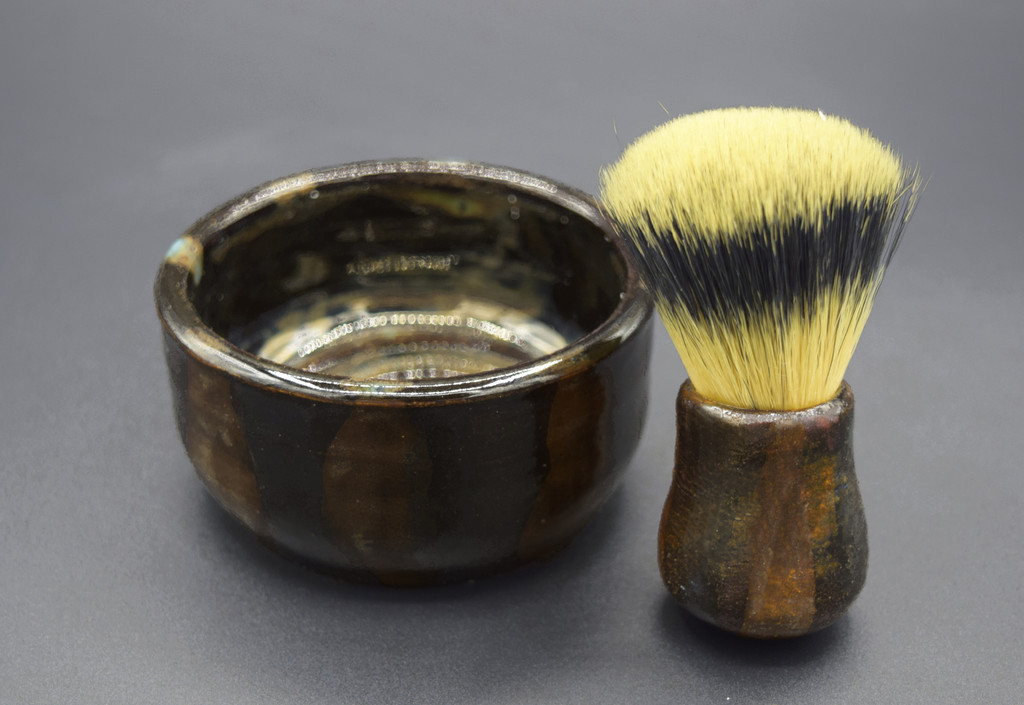 Shaving Set by Apple Valley Natural Soap