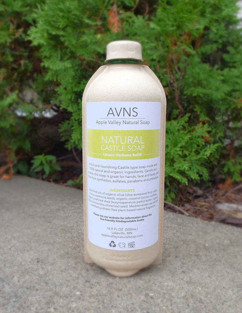 Liquid Lemon Verbena Castile Soap by Apple Valley Natural Soap