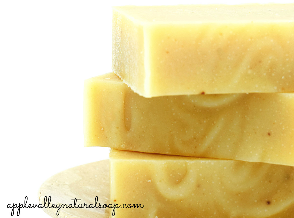 Geranium Blossom Goat Milk Shampoo and Body Bar by Apple Valley Natural Soap
