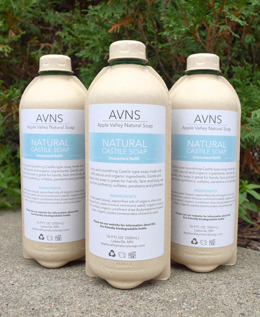 Liquid Unscented Soap by Apple Valley Natural Soap
