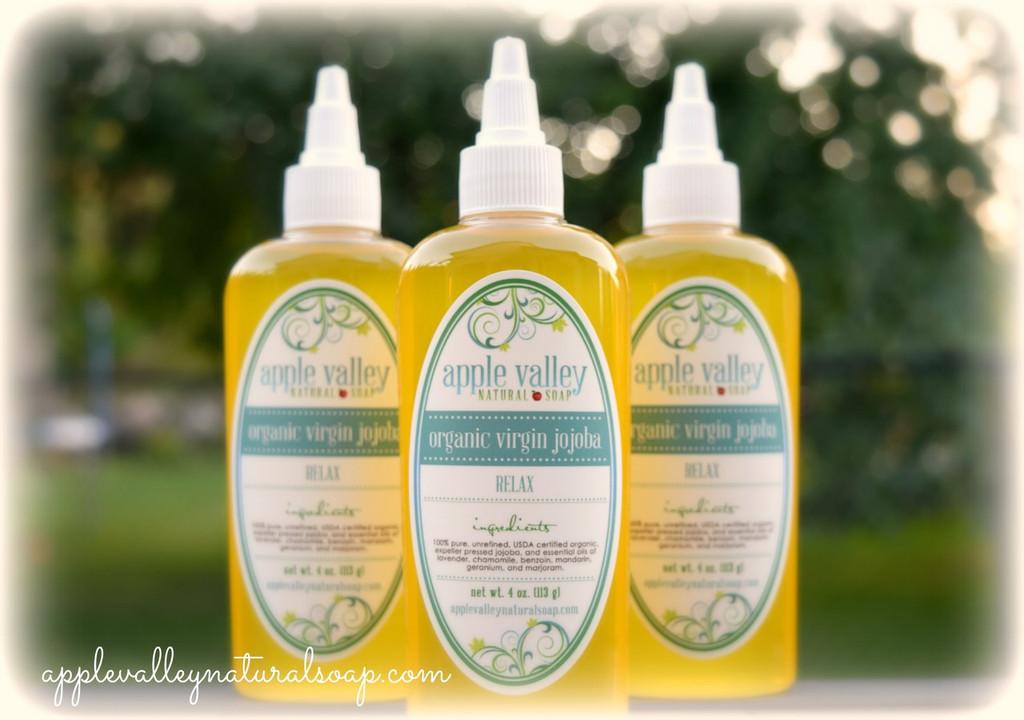 Organic Virgin Jojoba by Apple Valley Natural Soap