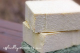 Basil Lemongrass Salt Bar - Apple Valley Natural Soap