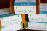 HALF Sized Facial Bars by Apple Valley Natural Soap