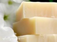 White China Silk Shampoo & Body Bar by Apple Valley Natural Soap