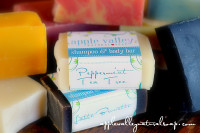 Half Bars of Natural Awesomeness by Apple Valley Natural Soap