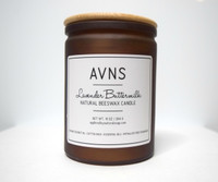 Lavender Buttermilk Beeswax Candle by Apple Valley Natural Soap.com