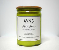 Lemon Verbena Soy Candle by Apple Valley Natural Soap