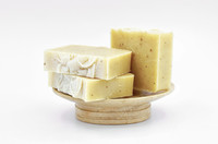 Cocoa Butter and Vanilla Bean Face and Body Bar by Apple Valley Natural Soap