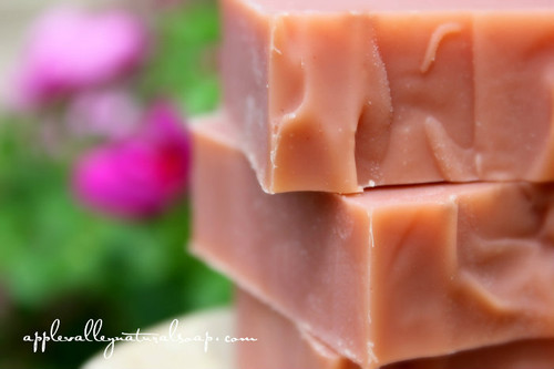 Bella Rose Shampoo and Body Bar by Apple Valley Natural Soap