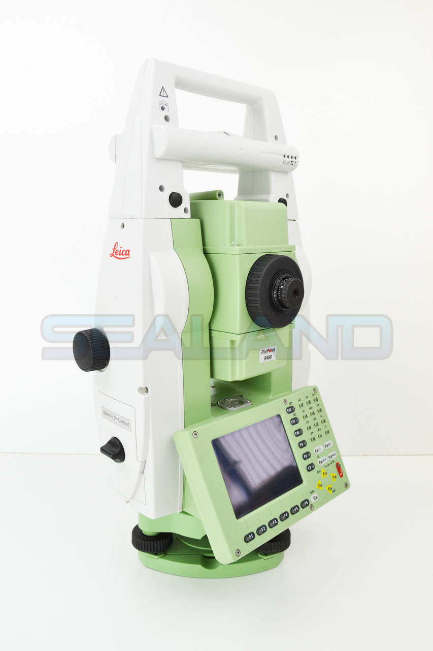 """Leica TCRP1205+ R400 5"""" Robotic & RX1220T Controller Reconditioned"""