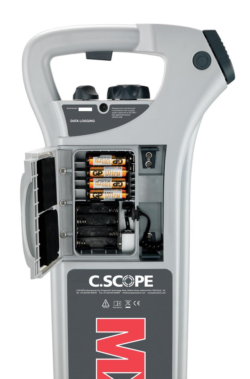 C-Scope MXL4-DBG Multi Frequency Detector - GPS, Data Logging, Depth & Strike Alert