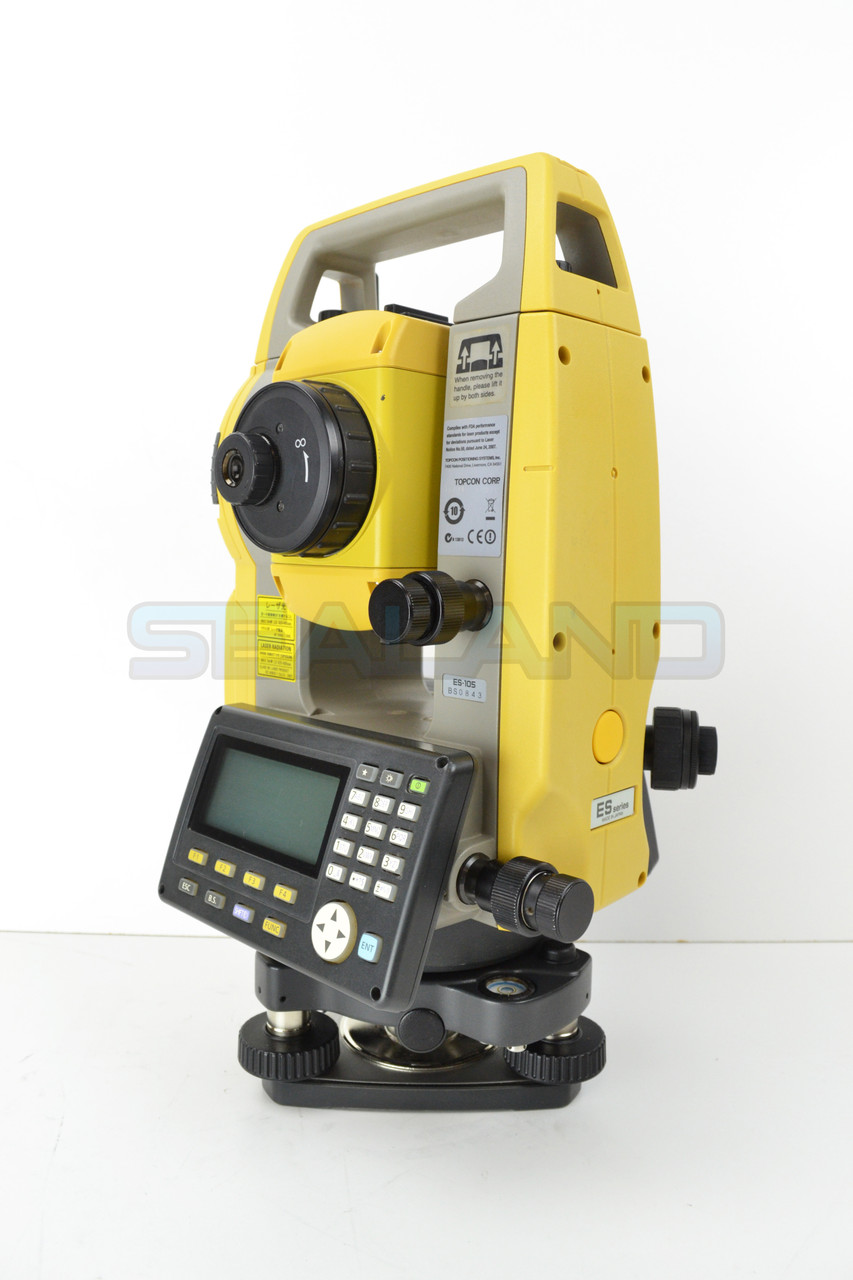 """Topcon ES-105 5"""" Total Station Reconditioned"""