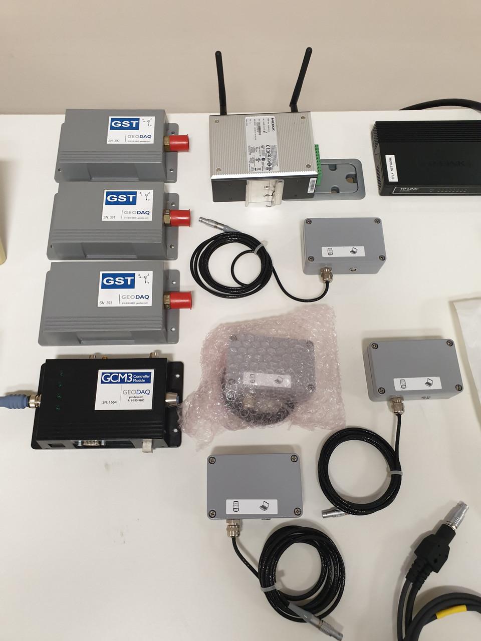 Leica Monitoring Robotic Total Stations TS30, TS15's & GPS