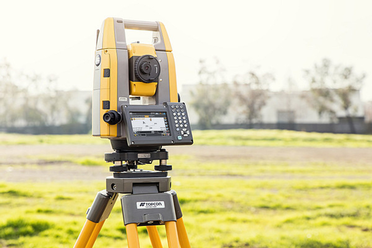 "Topcon GT-605 5"" Robotic Total Station with FC-6000"