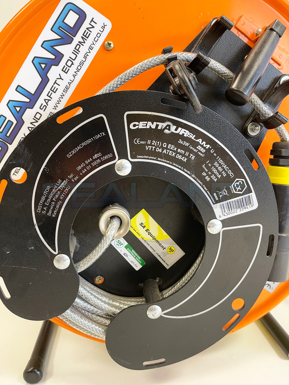 Reconditioned SA Equip 110v Atex Work Reel