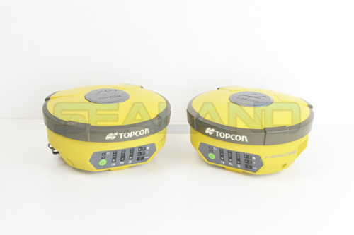 Topcon Hiper V Base and Rover with FC-5000 Controller - Reconditioned
