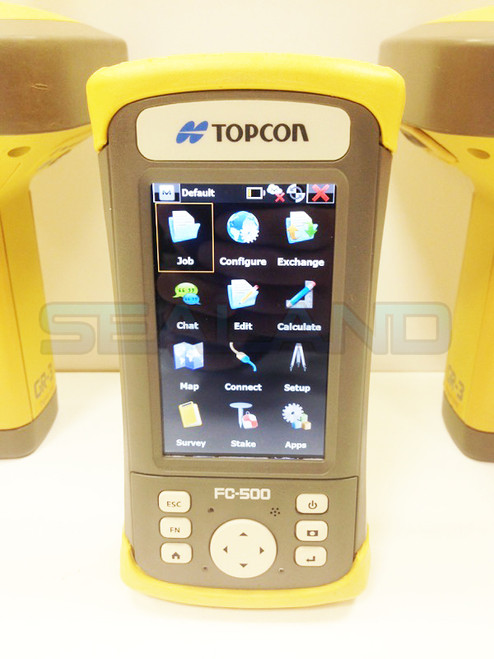 Topcon GR-3 Base and Rover with FC-500
