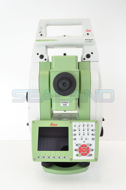 "Leica TS15 5"" R400 Robotic Total Station With CS15 Reconditioned"