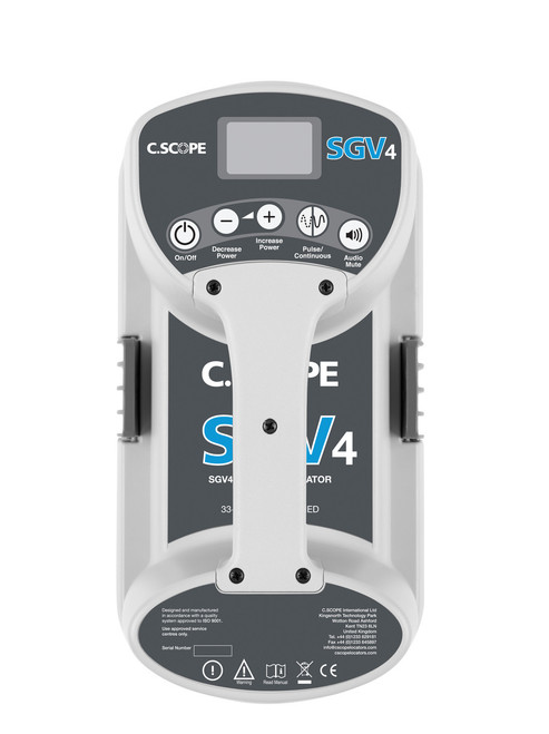 C-Scope SGV4-D Standard Genny 33+131kHz with Data Logging