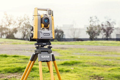 Topcon GT-505 Robotic Total Station with FC-6000