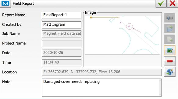 Asset Management using Magnet Field