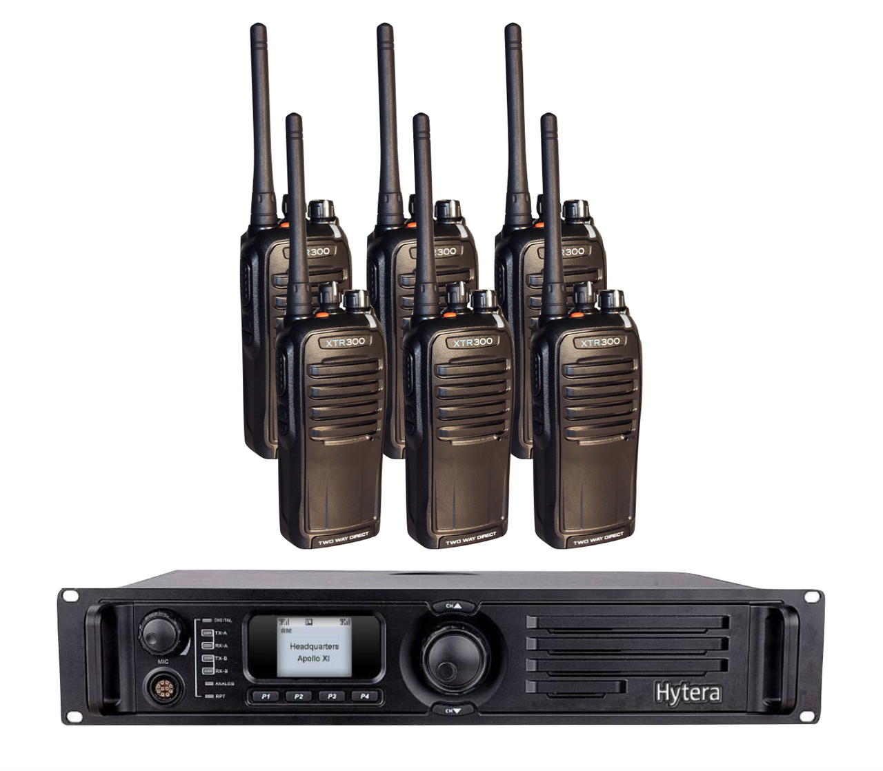 Standard Repeater Bundle - Radios and Accessories Included