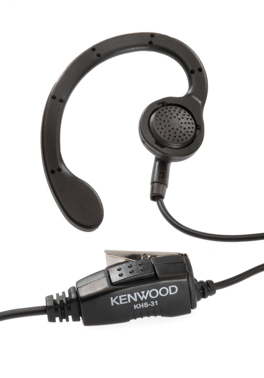 5fd4326db4b ... Kenwood KHS-31 C-Ring Earpiece With Inline PTT Switch · KHS-31