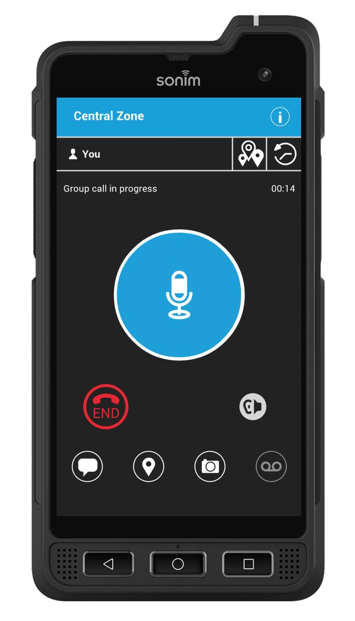 FirstNet Ready™ Sonim XP8 with Nationwide Enhanced Push-to-Talk