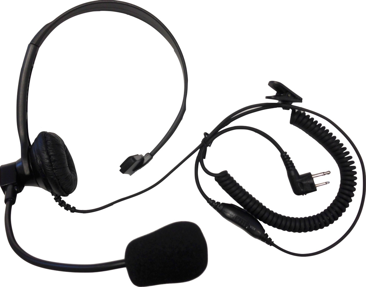 Acoustic Lightweight headset with PTT for Motorola CP200D CP200 PR400 CP200XLS
