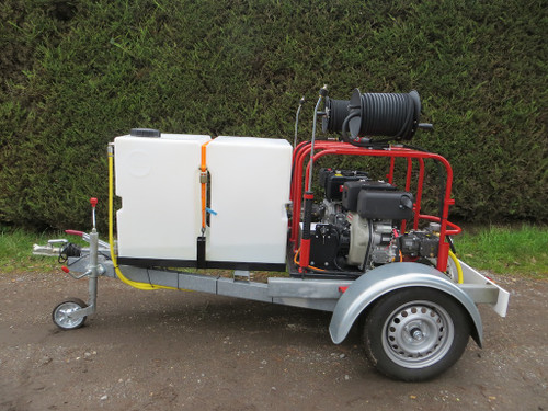 Diesel Twin Engine Pressure Washer (PIL-CWTB400X2D)