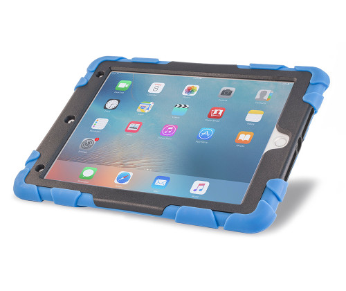 """KeepSAFE 360"" rotating kickstand case for iPad 5 and iPad 6 (2018 version) - by Devicewear"