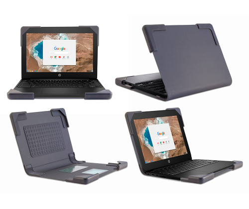 Book Covers Chromebook Case for HP G5 EE 11 in. - by Devicewear