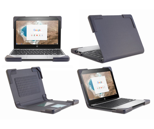 Book Covers Chromebook Case for HP G4 EE 11 in. - by Devicewear