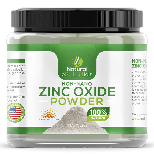 Zinc Oxide Powder - Mixes with Other Lotions to add Sun Protection