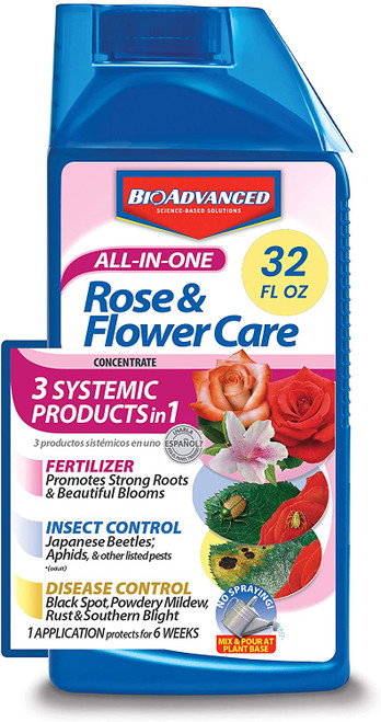 3 in 1 Flower Care Fertilizer Insect & Disease Control