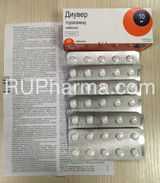 DIUVER® (Torasemid Demadex, Examid) 10 mg/tab, 60 tabs/pack