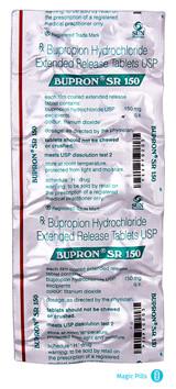 BUPRON SR 150 Zyban blister
