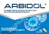 Arbidol against influenza