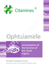 Ophtalamin Eyes bioregulator