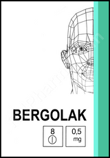 Bergolac 0.5 mg 8 tablets