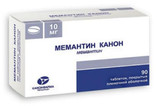 Memantine Canon 10 mg sample pack