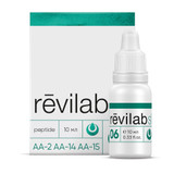 Revilab SL 06 for respiratory system, 10ml/vial