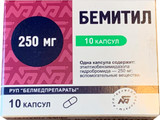 BEMITIL® (Bemethyl, Metaprot) 250 mg/tab, 10 tablets