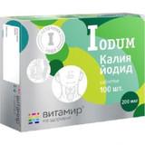 Potassium iodine 200 mcg 100 tablets pack