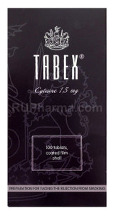 Tabex 1.5 mg 100 tablets